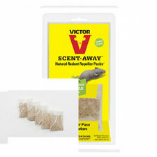 Victor M805 Scent-Away Natural Rodent Repeller Packs, 5 Bags, Beige 5 Bags