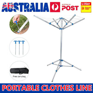 Foldable Camping Portable Clothes Dryer Airer Folding Clothesline Clothes Hanger