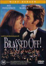 BRASSED OFF! (Pete POSTLETHWAITE Ewan McGREGOR Tara FITZGERALD) DVD NEW Region 4