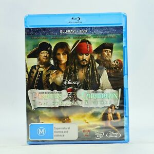 Pirates Of The Caribbean On Stranger Tides Blu Ray 2011 2-Disc Set New Sealed