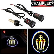LED Projector Logo Emblem symbol badge Under Door Step courtesy ligh GOLD CROWN