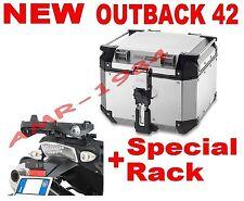BAULE TREKKER OBK42A OUTBACK 42 LT. + PIASTRA SR684  BMW R 1200 GS 2004-2011