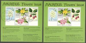 AOP #439a 1977 Flowers MS miniature sheet MNH & used (2)