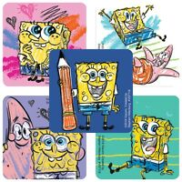 25 Silly Spongebob Squarepants Stickers Party Favors Teacher Supply