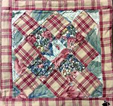 "Boyds Bear ""Katie's Quilt"" #6810- 8"" Fabric - Mini Quilt"