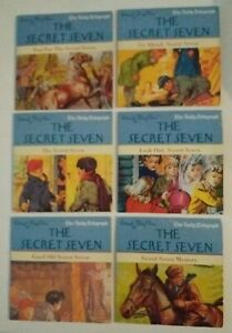 SECRET SEVEN 6 CHILDREN'S PROMO AUDIO BOOK CDs