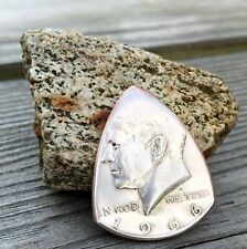 Coin Guitar Pick The Original-'65-'69 US Kennedy Half Dollar 40% Silver-U Choose