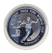 SIERRA LEONE - 10 Dollars 2004 - FUSSBALL-WM 2006 - Spieler - SILBER - ANSEHEN