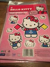 More details for hello kitty wall stickers job lot 26 sheets