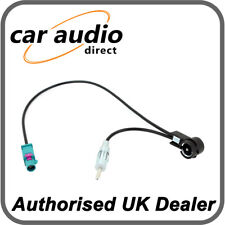 Connects2 CT27AA172 Water Blue Fakra Aerial Adapter for Citroen Fiat Peugeot