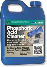 Miracle Sealants Phosphoric Acid Cleaner 3.785Ltr - Acidic Tile & Stone Cleaner