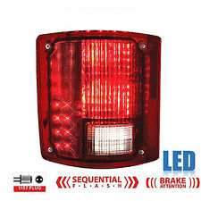 73-91 Chevy GMC Truck Rear LH LED Sequential Tail Turn Signal Brake Light Lens