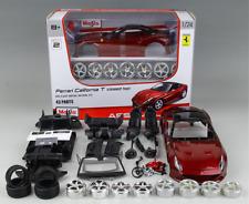 Maisto 1:24 Ferrari California T Assembly DIY Racing Car Diecast MODEL KITS