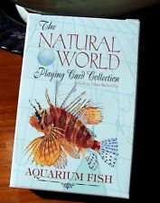 Aquarium Fish of the Natural World Playing Cards