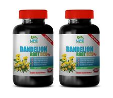 diuretic detox - DANDELION ROOT 520MG - dandelion leaf and root tea 2B