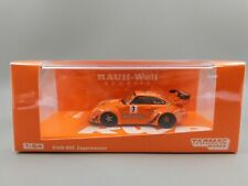 Tarmac Works Orange PORSCHE 993 RWB Rauh-Welt Begriff Jagermeister #7 1:64 Scale