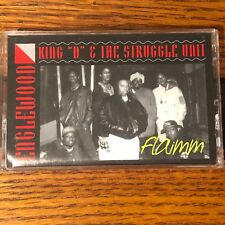"""KING """"D"""" & THE STRUGGLE UNIT ENGLEWOOD-RARE-OOP-CHICAGO-1991-NO BAR CODE"""