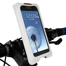 Ibera Bike White Smartphone Case Spring-Loaded Adjustable Stem Mount NEW PB12Q5W