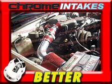 CF RED 96-00 GMC/CHEVY SIERRA C/K 1500/2500/3500 5.0L 5.7L V8 AIR INTAKE KIT 2P