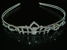 Wedding Bridal Prom Pageant Crown Rhinestone Princess Design Tiaras Headband WT3