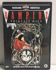 """Vampire """"Princess Miyu"""" Manga Anime DVD NL Subs Dutch Version"""