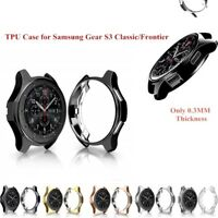 Samsung Gear S3 Watch Frontier Slim Electroplated TPU Cover Case Protector Parts