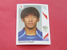 449 MASASHI OGURO JAPAN PANINI FOOTBALL GERMANY 2006 WM FIFA WORLD