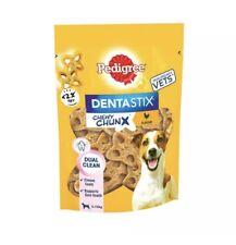 Pedigree Dentastix Chewy Chunx Mini Small Medium Dog Treats Chicken 68g
