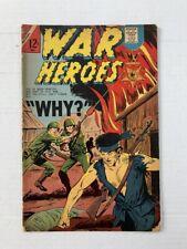 WAR HEROES #24 - Charlton - May 1967 - GD 2.0