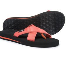 cc31086cc NEW TEVA MUSH KALEA SLIDE SANDALS WOMENS 7 CORAL 1015196 FREE SHIP