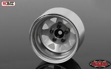 5 Lug Deep Dish Wagon 1.9 Steel Stamp Beadlock Wheels PLAIN RC4WD Z-W0244 Silver
