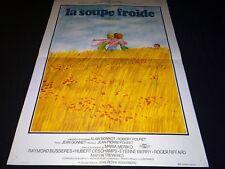 LA SOUPE FROIDE  affiche cinema vintage ferracci 1975
