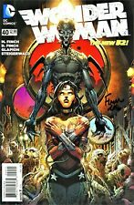 Wonder Woman #40 The New 52! Signed By Artist David Finch