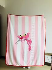 Pink Panther pink warm blanket Throws quilt blanket bed 150x120cm