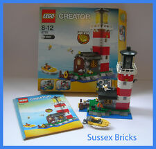 Lego City Town Creator - 5770 - Lighthouse Island (3in1) - Boxed Complete VGC