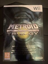Metroid Prime Trilogy Wii Disc IMMACULATE CONDITION!!