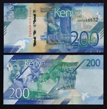 Kenya- P#new 200 Shillings 2019 Prefix AA Uncirculated Banknote.