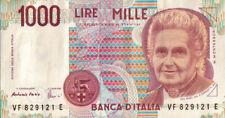 BANCONOTA REPUBBLICA ITALIANA DA 1000 LIRE Fazio-Amici 32-66