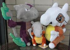 "3X style Pokemon Alola Cubone 12"" Stuffed Animal Nintendo Cartoon Game Plush Toy"