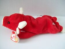 Ty Beanie Babies~4th Generation~Snort The Red Bull~Good Heart Tag~ bb86258528d4