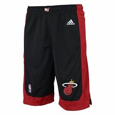 ($28) ADIDAS Miami Heat nba Basketball Jersey Shorts YOUTH KIDS BOYS s