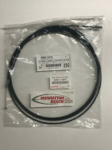 GENUINE OEM TOYOTA 09-13 COROLLA (JPP) POWER TRUNK LOCK LATCH RELEASE CABLE