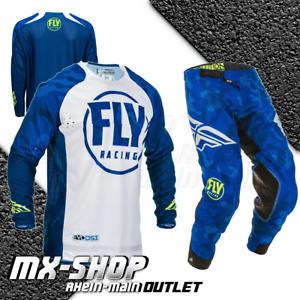 FLY RACING MX Combo Evolution DST Motocross blau weiß Größe XL - 34