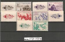 DB 1939-45 Frankreich Mi-Nr.: VI-X mit Zierfeldern sauber postfrischer Satz