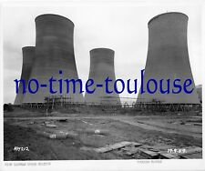 High Marnham Power Station. Construction Photograph 1959. Cooling Towers.