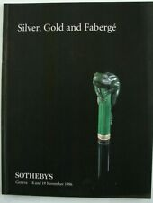 Sotheby Geneva November 18 19 1996 Silver Gold and Faberge