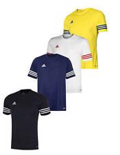 Adidas entrada Climalite Maglia calcio maniche corte forniture squadre