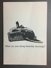 1958 Chrysler Imperial Showroom Sales Brochure RARE!! Awesome L@@K