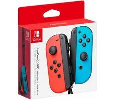 Genuine Nintendo Interruptor-Joy-Con (R) (L) Neón Controlador inalámbrico Rojo/Azul