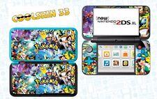 POKEMON - vinyl Skin Aufkleber für Nintendo NEW 2DS XL (C-Stick)- réf 209